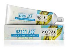 JASON Sea Fresh Strengthening Fluoride-Free Toothpaste, Deep