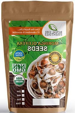 Seeds - Moringa Oleifera USDA Certified Organic Seed - 8oz