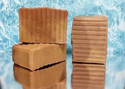 Shampoo/Body Bar, Morrocan Clay, Tea Tree Rosemary Oil, hand