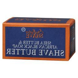 Shea Moisture Shave Butter Creme African Black Soap -- 6 oz