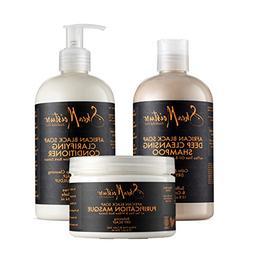 SheaMoistureAfrican Black Soap Hair Care Pack | 13 fl. oz. D