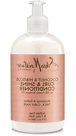 SheaMoisture 13 oz Coconut & Hibiscus Curl & Shine Condition