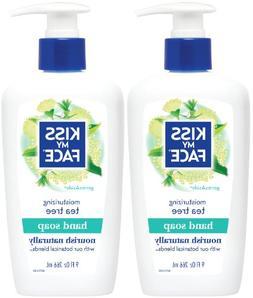 Skin Nourishing Liquid Moisture Soap, Tea Tree with Germasid
