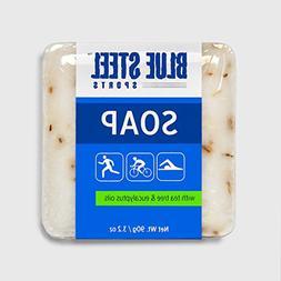 Blue Steel Sports SOAP with Tea Tree and Eucalyptus Oils - M