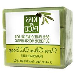 Kiss My Face Pure Olive Oil Bar Soap -- 4 oz
