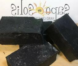 soap peppermint and tea tree charcoal face
