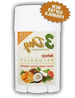 NEW SOFTER FORMULA - 3-Day Deodorant - All Natural, Farm Tes