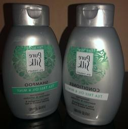 PURE SILK Spa Therapy Shampoo/ Conditioner Tea Tree Oil & Mi