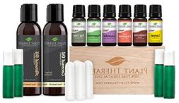Plant Therapy Essential Oil Starter Set. 100% Pure, Undilute