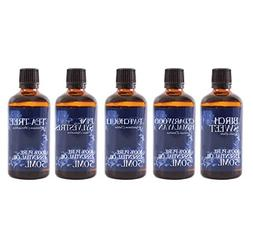 Mystic Moments | Starter Pack of 5 x 50ml Woodland Essential