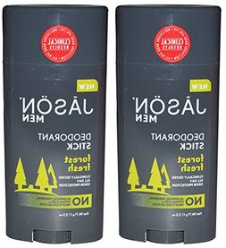 Jason Natural Products Men's Deodorant Stick Forest Fresh Pa