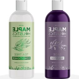 Sulfate Free Shampoo And Tea tree Oil Conditioner Set - Anti