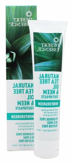 tea oil toothpaste