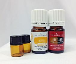 Tea Tree 5ml Young Living Essential Oil ⭐BONUS Free Lemon