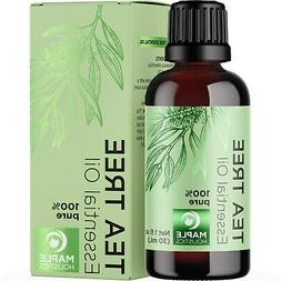 Pure Tea Tree Essential Oil - 100% Natural & Therapeutic Gra