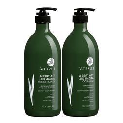 Luseta Tea Tree and Argan Oil Shampoo and Conditioner Set
