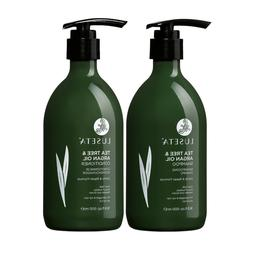 Luseta Tea Tree and Argan Oil Shampoo and Conditioner Set