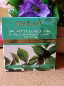 Tea Tree  Anti-aging Day Cream dead Sea minerals with tea tr