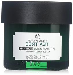 The Body Shop Tea Tree Anti-Imperfection Night Mask, 2.6 Fl