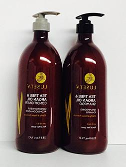 Luseta Tea Tree & Argan Oil Shampoo Clarify & Repair Formula