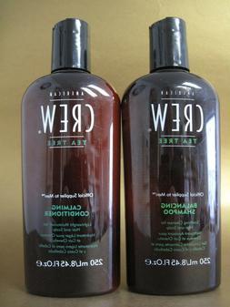AMERICAN CREW TEA TREE Balancing Shampoo & Calming Condition