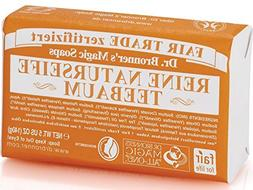 Dr Bronner's Tea Tree Pure-Castile Bar Soap 140 gr by Dr. Br