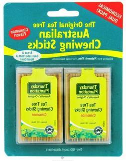 Tea Tree Chewing Sticks Dual Pack - Cinnamon Thursday Planta