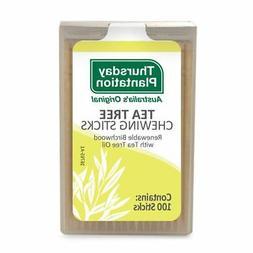 Tea Tree Chewing Sticks Original Thursday Plantation 100 Too