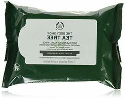 The Body Shop Tea Tree Cleansing Wipes, Made with Tea Tree O