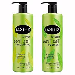 ShiKai Tea Tree Shampoo & Conditioner Set - Rich in Tea Tree