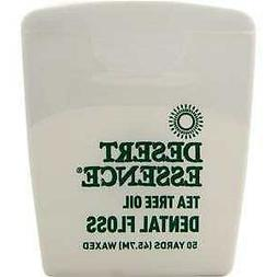 Desert Essence Tea Tree Dental Floss  50 YD