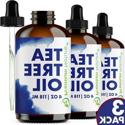 Tea Tree Essential Oil 12oz  Aromatherapy Body Skin Nail Fun