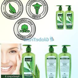 Beauty America Tea Tree Facial Cleansing Wash - with Jojoba