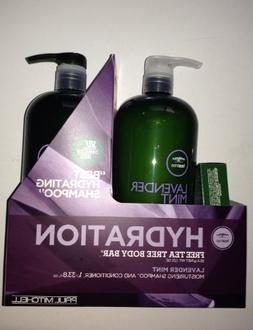 Paul Mitchell Tea Tree Lavender Mint Shampoo33.8 Oz & Condit