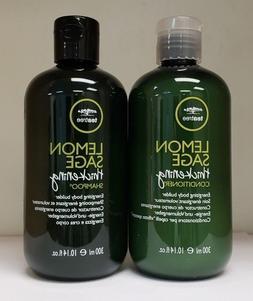 Paul Mitchell Tea tree lemon Sage shampoo and conditioner 10