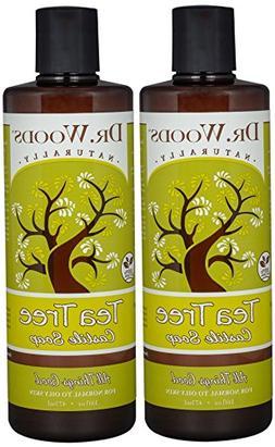 Dr. Woods Pure Tea Tree Liquid Castile Soap, 16 Ounce