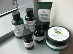 THE BODY SHOP Tea Tree Mask Pore Minimiser Wash Toner Oil 6p