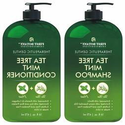 Tea Tree Mint Shampoo & Conditioner Set Hair Growth, Dandruf