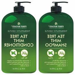 Tea Tree Mint Shampoo & Conditioner Set Hair Growth, Dandruf
