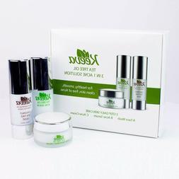 Keeva Organics Tea Tree Oil Acne Solution 3 in 1 Face Wash,