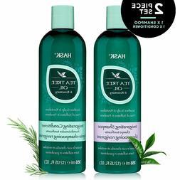 HASK TEA TREE OIL & ROSEMARY Shampoo and Conditioner Set 12