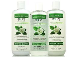 PURE Tea Tree Oil Shampoo & Conditioner Set, 26.5 oz. each -