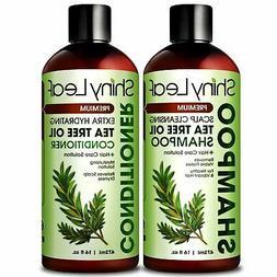 Tea Tree Oil Shampoo and Conditioner Anti-Dandruff Formula,