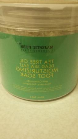 Majestic Pure Tea Tree Oil Dead Sea Salt Moisturizing Foot S