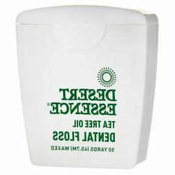 Desert Essence Tea Tree Oil Dental Floss 50 Yards