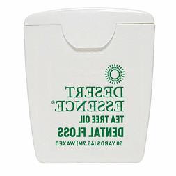 Desert Essence Tea Tree Oil Dental Floss 50yds