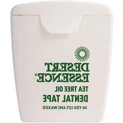 Desert Essence Tea Tree Oil Dental Floss Tape Thicker Strong