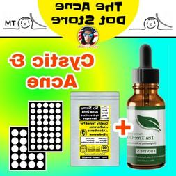 Tea Tree Oil, Effective Cystic Acne Treatment Natural Skin C