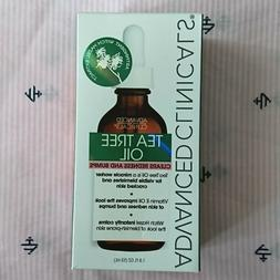 ADVANCED CLINICALS Tea Tree Oil Face Oil Vitamin E and Witch