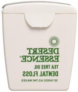 Tea Tree Oil Floss, 50 yds, 6 Pack